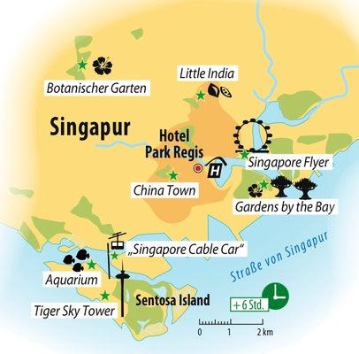 Rundreise Malaysia & Singapur