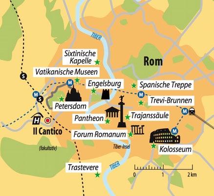 Ihr Hotel in Rom