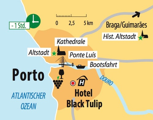 Ihr Hotel in Porto