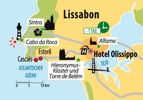 Ihre Hotel in Lissabon