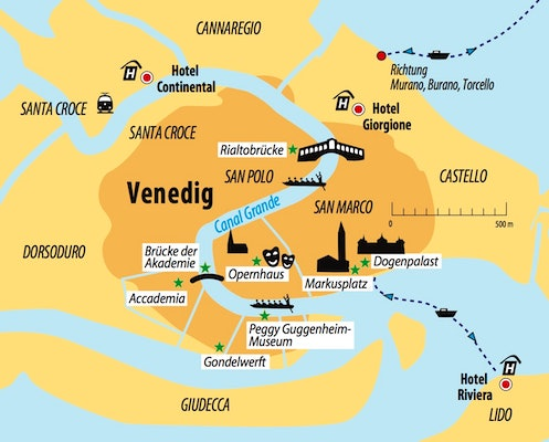 Ihre Hotels in Venedig 2018