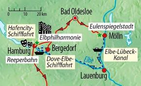 Ihre Reiseroute, Copyright: Eberhardt TRAVEL