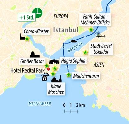 Ihre Ortskarte