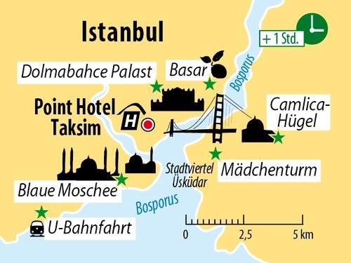 Ihr Hotel in Istanbul