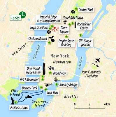 Ihre Stadtkarte New York
