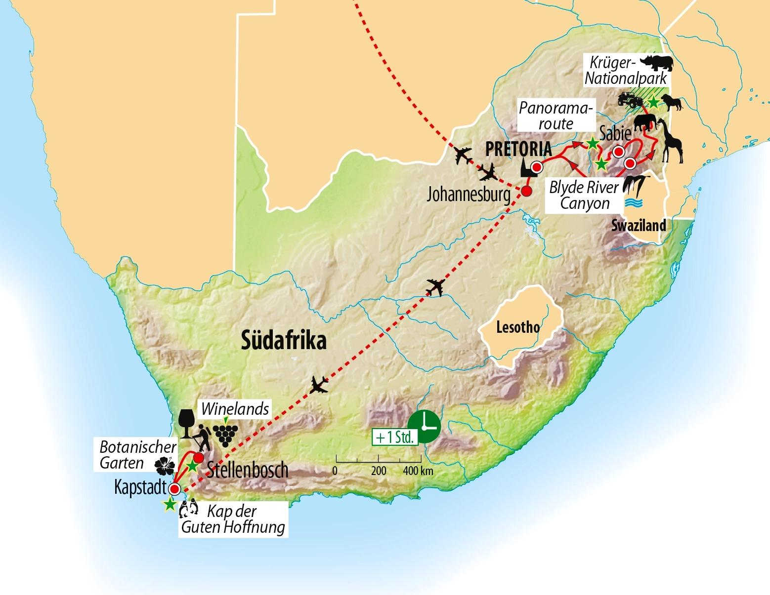 Rundreise Weihnachten 2019.Reise Südafrika Weihnachten Silvester Saison 2019