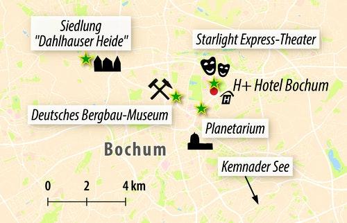 Stadtkarte Bochum