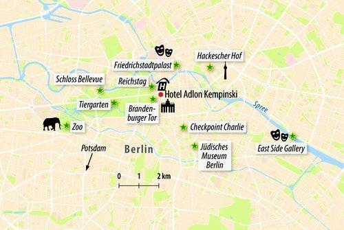 Ihre Stadtkarte von Berlin