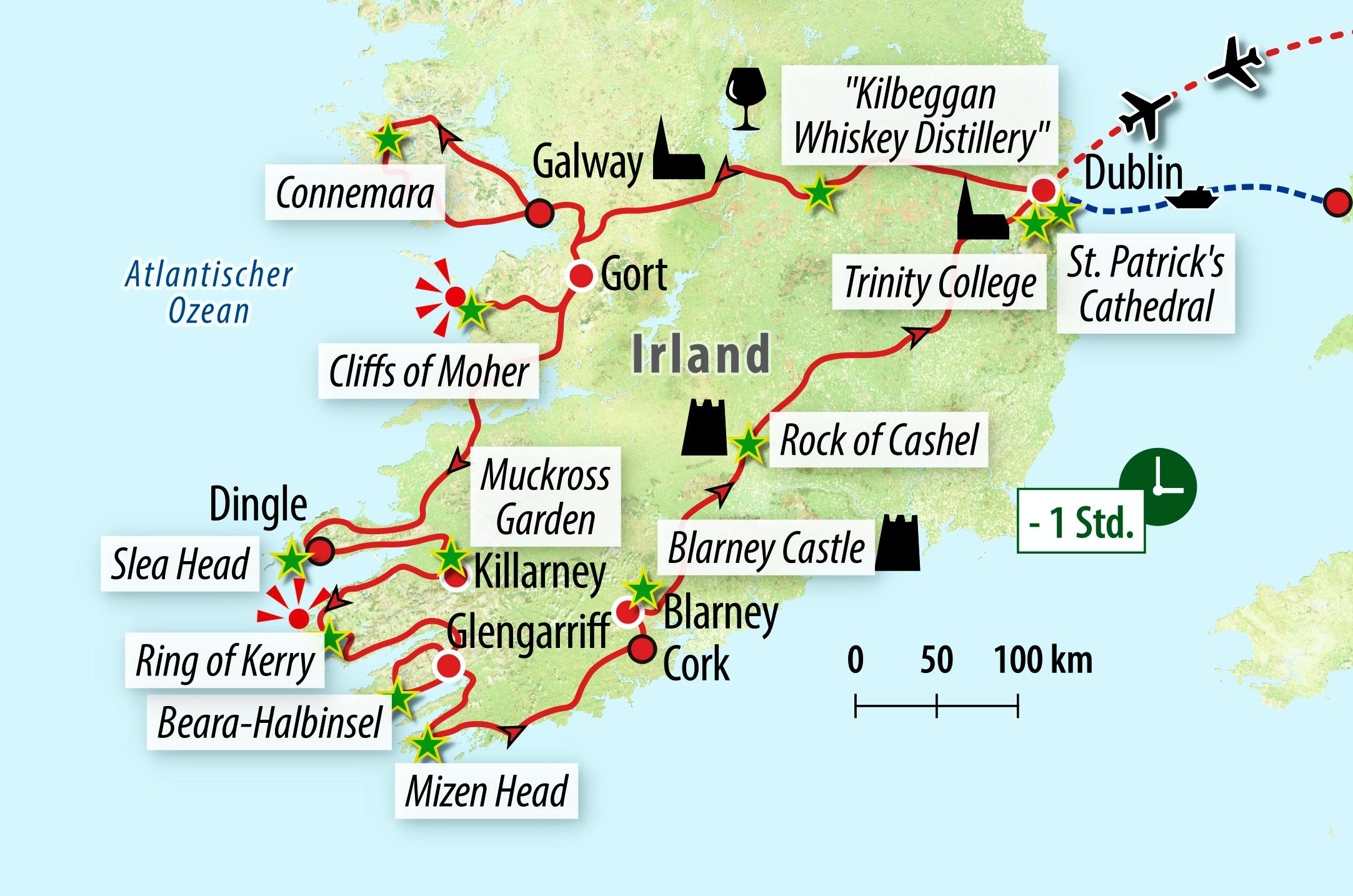 Neckermann busrundreise irland zum kennenlernen
