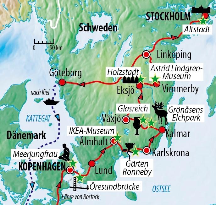 Die beste Reisezeit für Schweden
