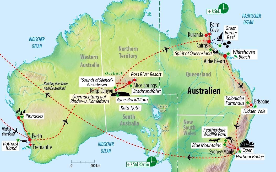 Exklusive Petit&Leger-Rundreise nach Australien in kleiner ...