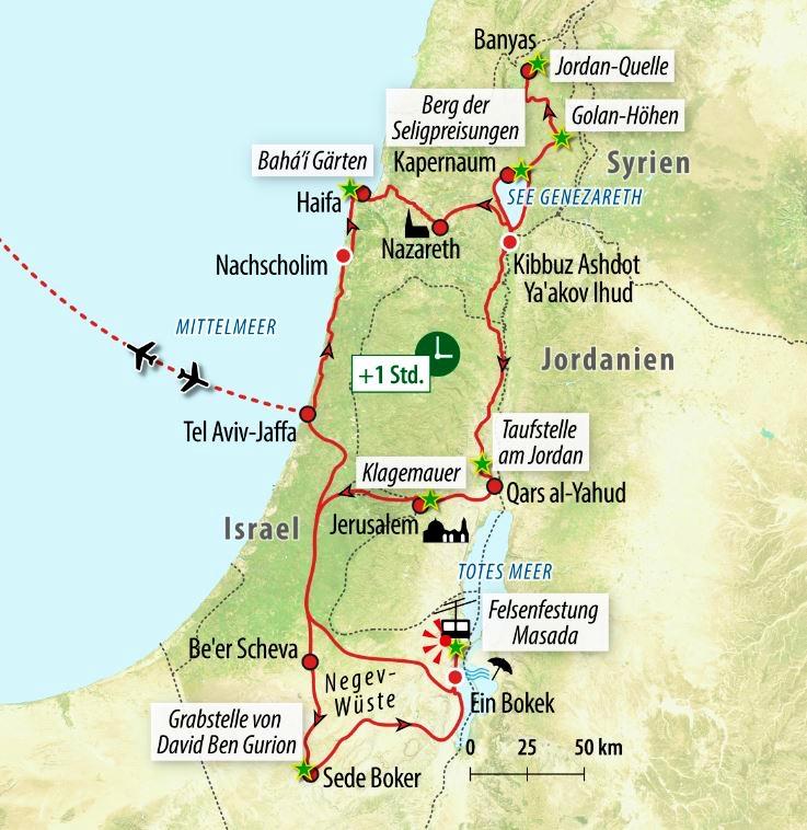 Jerusalem Karte Heute.Israel Rundreise Mit Rollstuhl Im Heiligen Land