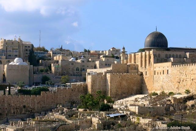 Tempelberg - al-Aqsa-Moschee