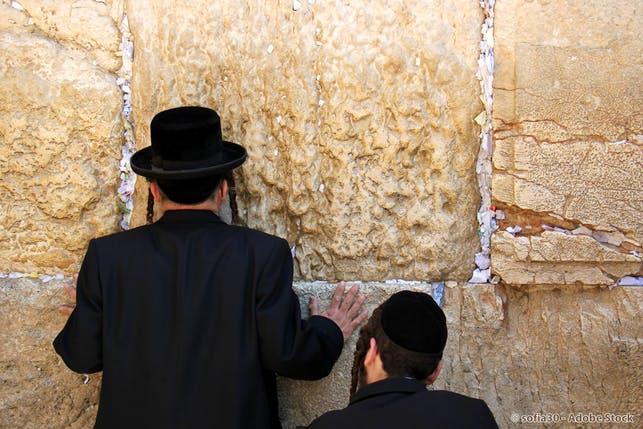 Klagemauer in Israel