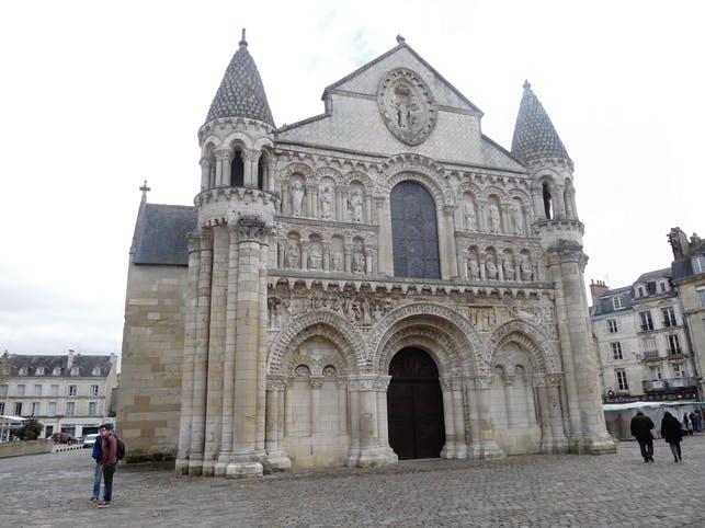romanische Kirche Notre Dame la Grande, Poitiers